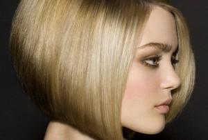 Стрижка боб каре на средние волосы