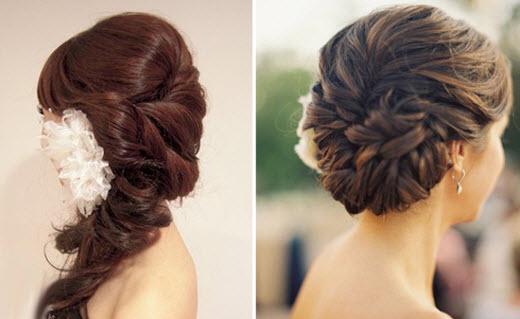 С косами и плетением