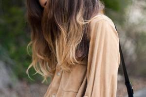 Как осветлить кончики волос в домашних условиях