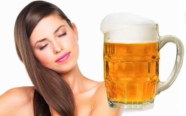 С пивом